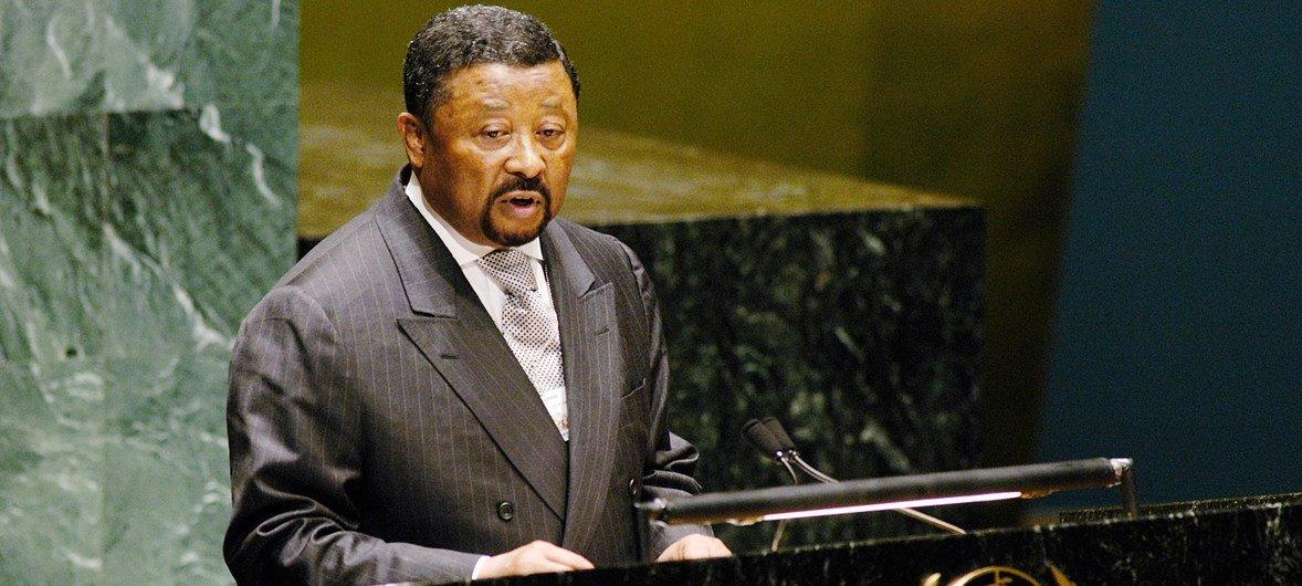 Jean Ping a été élu Président de la 59e session de l'Assemblée générale des Nations Unies le 10 juin 2004.