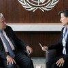 Антониу ГУтерриш ответил на вопросы Мелиссы Флеминг о предстоящей сессии Генеральной Ассамблеи ООН