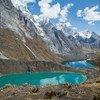 La Cordillera Huayhuash en août 2019. Les Andes contiennent 99% des glaciers tropicaux du monde et 71% se trouvent au Pérou.