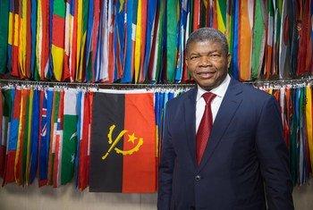 O presidente de Angola, João Lourenço, no primeiro dia do debate de alto nível da 74ª sessão da Assembleia Geral.