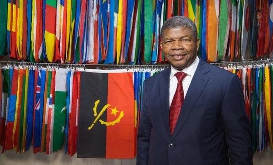 O presidente de Angola, João Lourenço, discursou esta terça-feira no primeiro dia do debate de alto nível da 75ª sessão da Assembleia Geral.