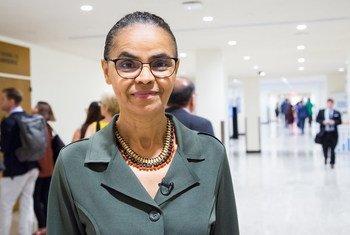 Marina Silva foi convidada por Prêmio Nobel da Paz, Muhammad Yunus, para integrar painel sobre economia verde, investimentos sociais e microcrédito