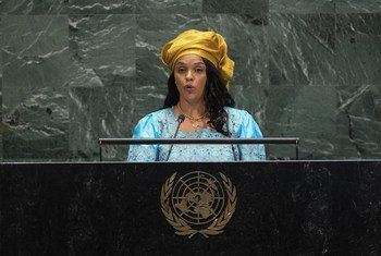 Ministra de Negócios Estrangeiros da Guiné-Bissau, Suzi Barbosa.