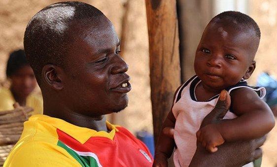 Waimbabie quis estar presente para o nascimento de seu filho.