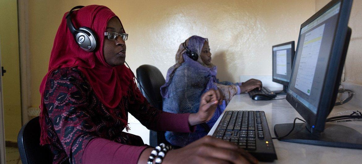 Centro de tecnologia na Mauritânia