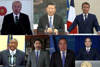 """""""他为她""""发声:男国家元首在联合国畅谈妇女权利"""