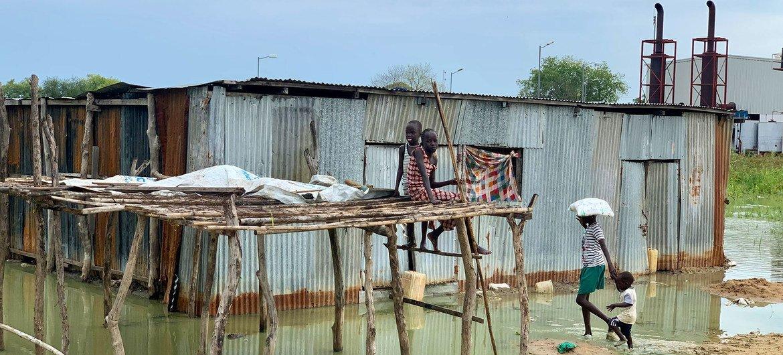 Soudan du Sud : les inondations font des ravages parmi les communautés vulnérables (HCR)