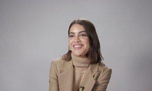 A blogueira de moda brasileira Camila Coelho esteve no evento e conta por que decidiu participar da campanha.