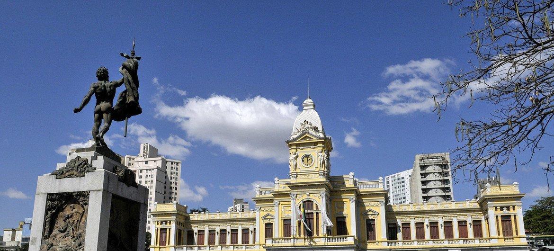Cidade de Belo Horizonte, Brasil.