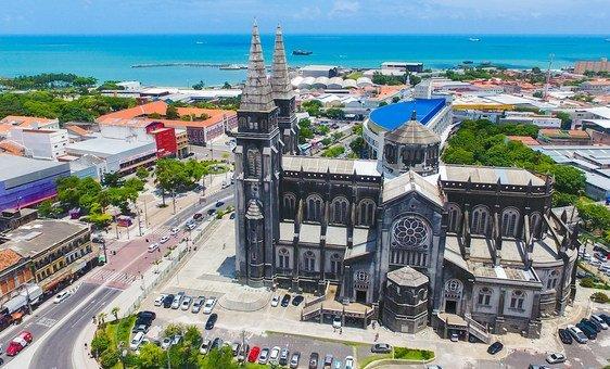 Cidade de Fortaleza, no Brasil.