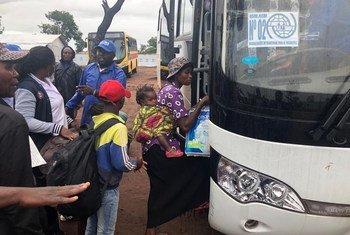 Grupo retorna à região de Kassai após melhora da segurança.