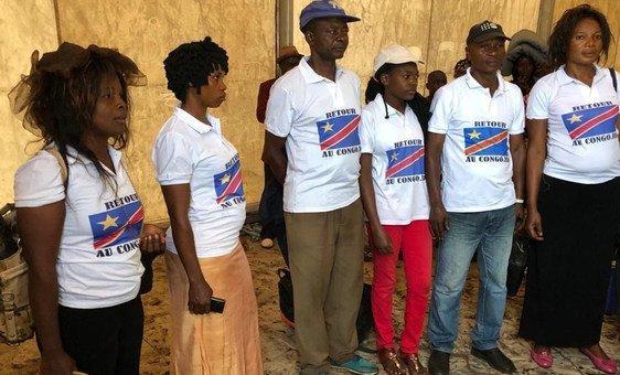 As expectativas dos congoleses incluem preparar o início do ano acadêmico no país de origem ou recuperar campos agrícolas