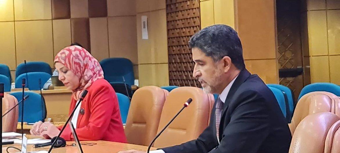 د. أحمد المنظري، المدير الإقليمي لشرق المتوسط في منظمة الصحة العالمية
