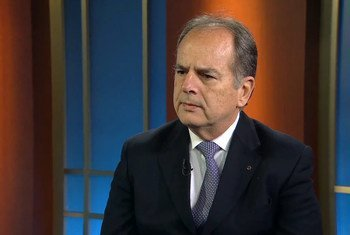O Almirante Liseo Zampronio é conselheiro militar da Missão Permanente do Brasil junto à ONU na RD Congo.