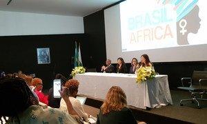 Intercâmbio Brasil-África pela Proteção da Mulher