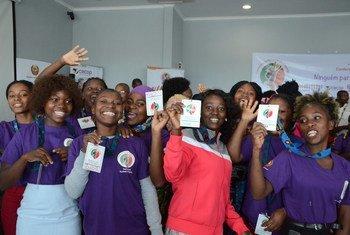 Durante três dias, os jovens partilharam experiências na província de Nampula, que tem a terceira taxa de analfabetismo mais alta do país.