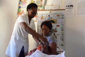 Moçambique quer salvar mais crianças oferecendo a suplementação de Vitamina A para mais de 4 milhões de beneficiários.