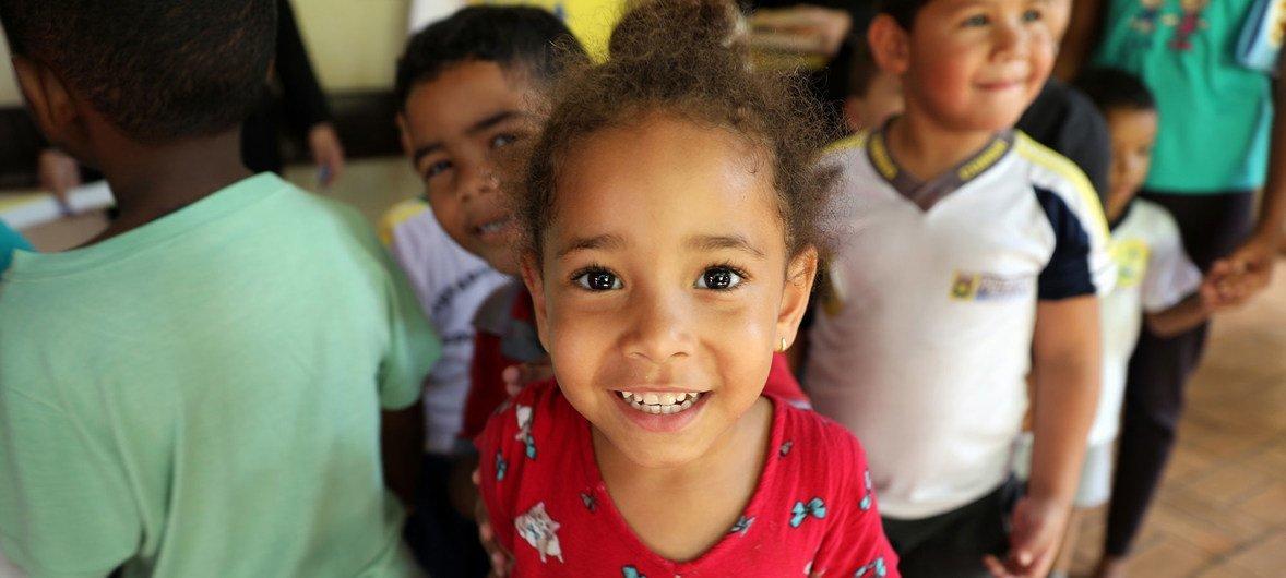 Brasil recebe campanha de vacinação da Opas contra o sarampo