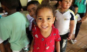 The Pan American Health Organization (PAHO) launches Vaccination Week in the Americas in Brazil, urging countries in the region to unite to end measles.