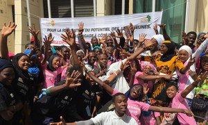 塞内加尔青年呼吁为青少年赋权