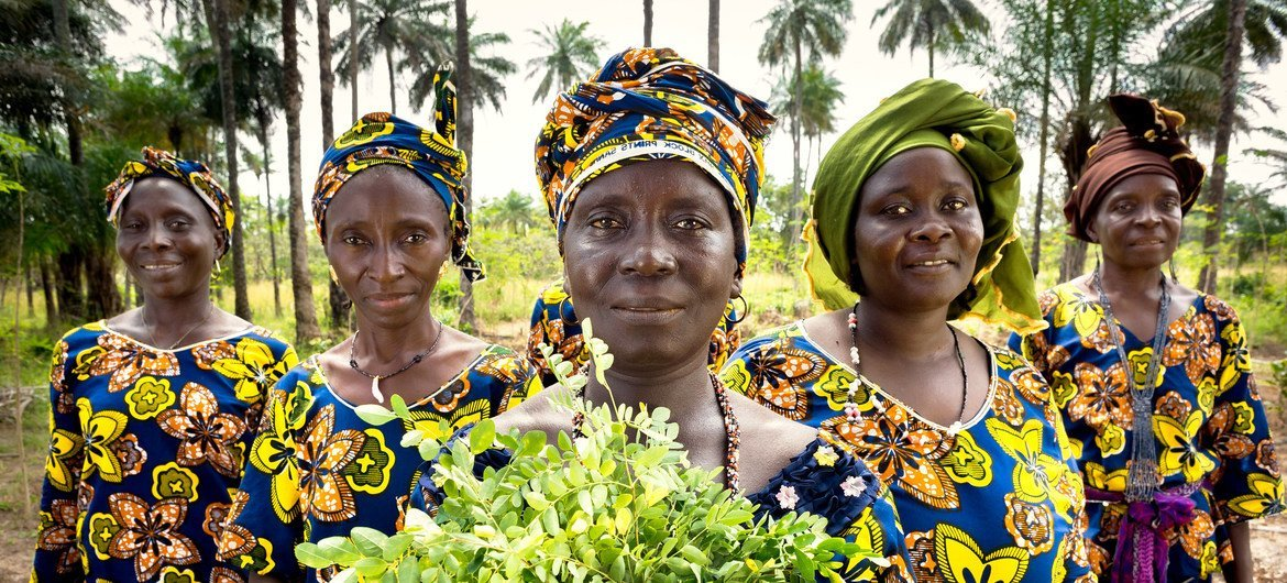 UN Women are helping women farmers in Guinea with new opportunities to generate income and improve community life.
