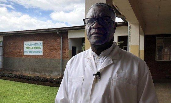 Denis Mukwege é especialista no tratamento de mulheres que foram estupradas por rebeldes armados.
