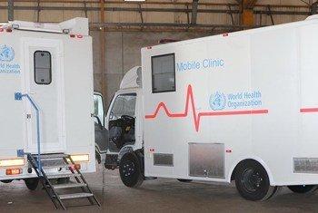 Les cliniques mobiles fournissent des soins de santé dans les pires crises du monde