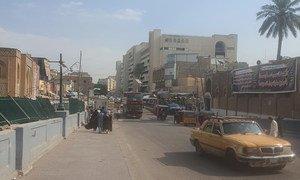 As manifestações das últimas semanas em Bagdá e outras províncias do Iraque estão sendo acompanhadas pela Unami.