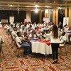 برنامج القيادات الشبابية في مصر- من البرنامج الإنمائي للأمم المتحدة; حيث تتنافس الفرق المشاركة من الشباب في معسكرات الابتكار من جميع محافظات الجمهورية