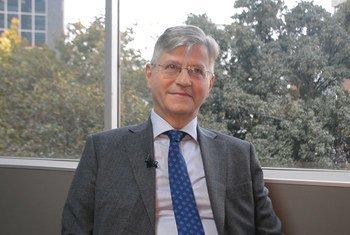 Jean-Pierre Lacroix, subsecretário-geral da ONU para Operações de Paz.