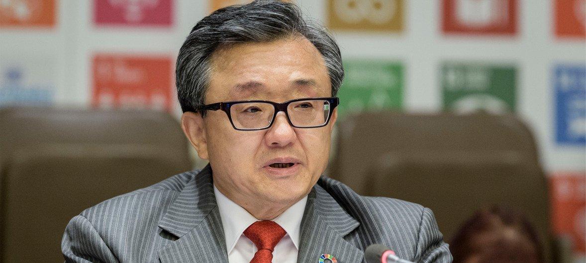 联合国负责经济与社会事务的副秘书长刘振民。(资料图片)