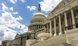 The United States Capitol Building, Washington, DC.