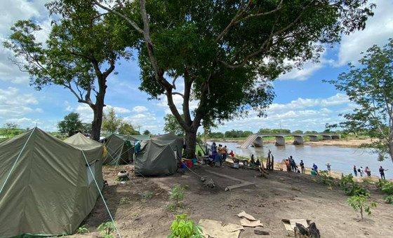 Várias pontes importantes foram danificadas, incluindo a ponte sobre o rio Montepuez, em Cabo Delgado.