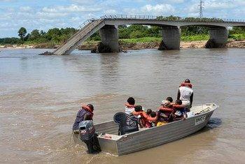 Mais de 67 mil pessoas foram afetadas pelas chuvas fortes, ventos e inundações que atingem Moçambique desde dezembro passado.