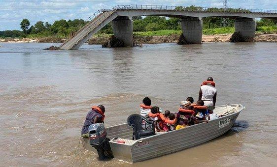 Mais de 58,8 mil foram afetadas pelas chuvas fortes, ventos e inundações que atingem Moçambique desde dezembro passado.