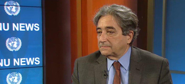 Ricardo Serrão Santos, ministro do Mar de Portugal.
