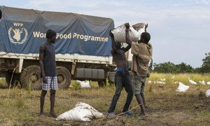 The United Nations has been providing food aid to hungry South Sudanese over a period of many years.