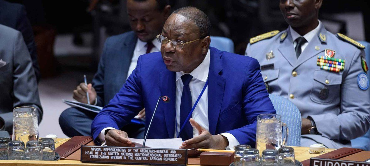Mankeur Ndiaye, Special Representative of the Secretary-General and Head of the UN Multidimensional Integrated Stabilization Mission in the Central African Republic (MINUSCA), brief Security Council members on the situation in the Country.