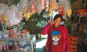A client in Cambodia supported by IIX's WLB1 (Women's Livelihood Bond 1).
