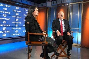Monica Grayley entrevista o novo embaixador do Brasil nas Nações Unidas.