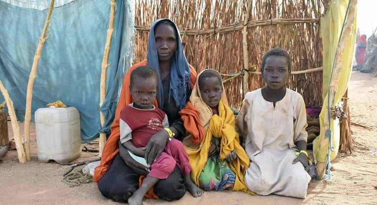 Violence in West Darfur has forced thousands of Sudanese across the border into Chad.
