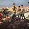 联合国人道主义机构对生活在战区和其他紧急情况下的1亿名依赖联合国援助的人表示关切。