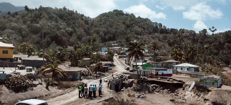 La Soufrière volcano: UN launches $29 million appeal to support stricken island of Saint Vincent