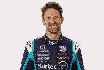 Romain Grosjean, pilote auto professionnel, a annoncé son soutien à la Fondation de l'OMS.