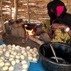 A woman starts a new life at the Doholo refugee camp in Chad after fleeing violence in the Central African Republic.