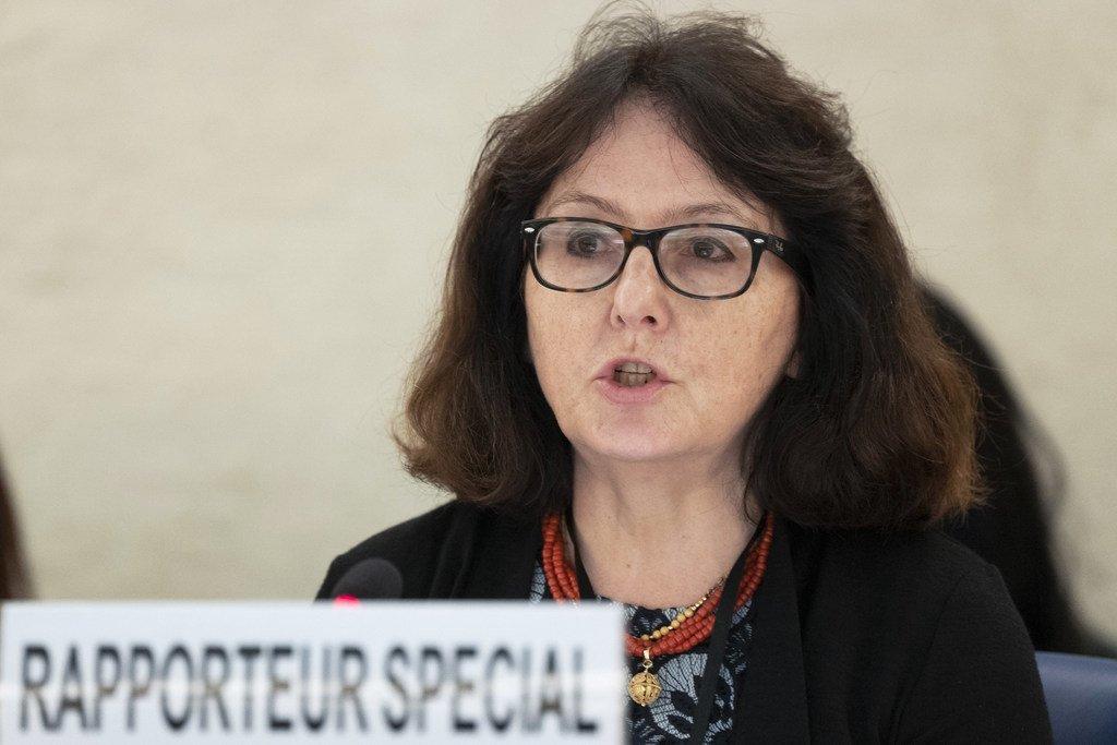Dubravka Šimonović, Rapporteure spéciale sur la violence contre les femmes.