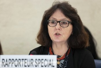 Dubravka Šimonović, Special Rapporteur on violence against women, one of the experts making the call. (file photo)