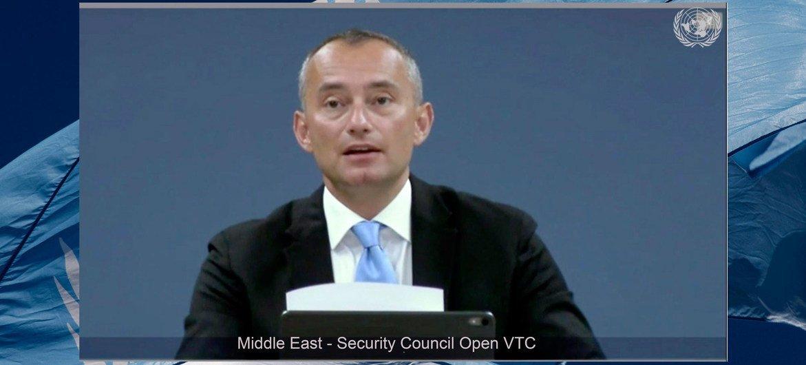 Специальный координатор ООН по ближневосточному мирному процессу Николай Младенов