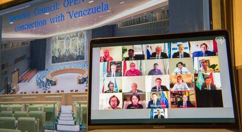 Sesión del Consejo de Seguridad sobre el intento de incursión armada a Venezuela