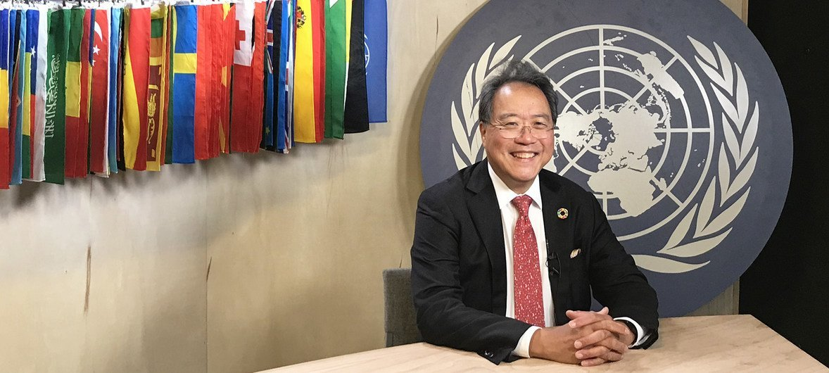 联合国和平使者马友友